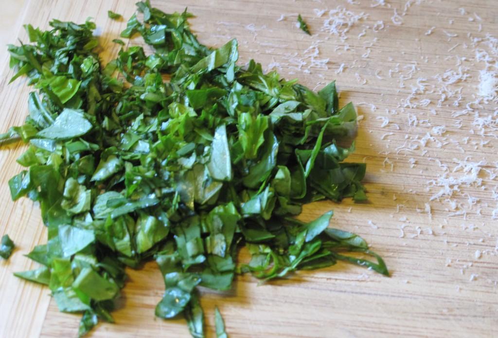 Chopped Basil