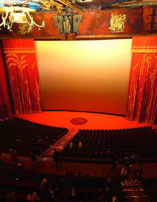 Historic Chinese Theatre - View From the Owners Box
