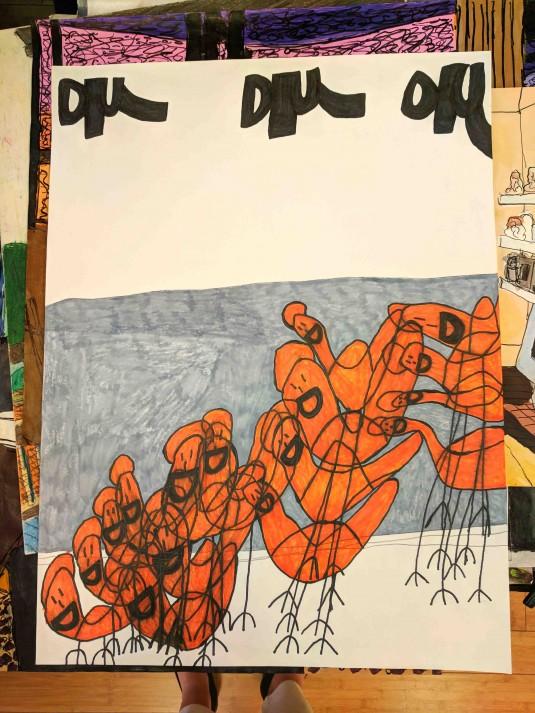 First Street: Artist Dru McKenzie