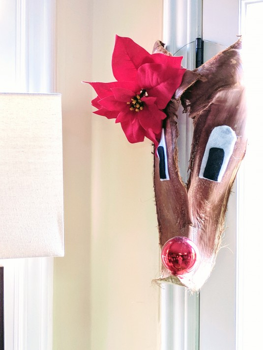 Palm Tree Rudolph - Made by Gwendlyn