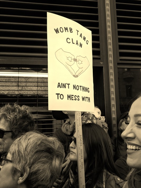 Womens March 2018 - Womb Tang Clan