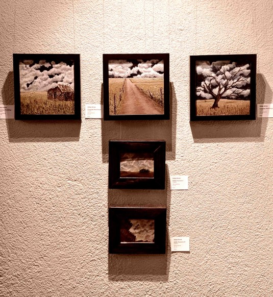 Mikki and an Art Show