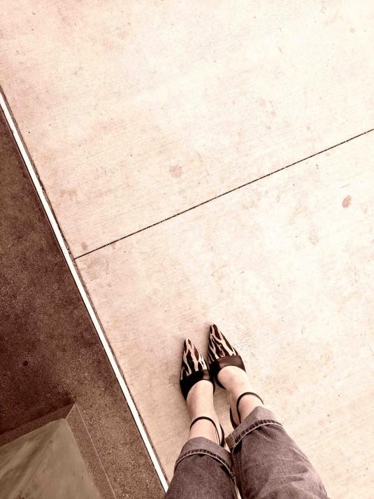 Mikki in Pretty Shoes