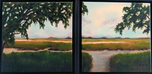 2 Low Country Paintings