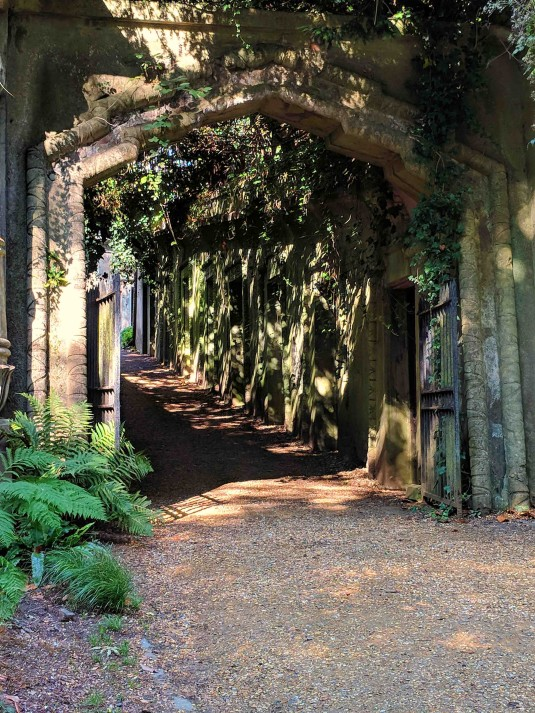 4th Day_Highgate Cemetery West_Egyptian Gateway_Phone Photo