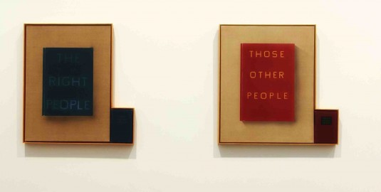 Ed Ruscha Works at The Broad