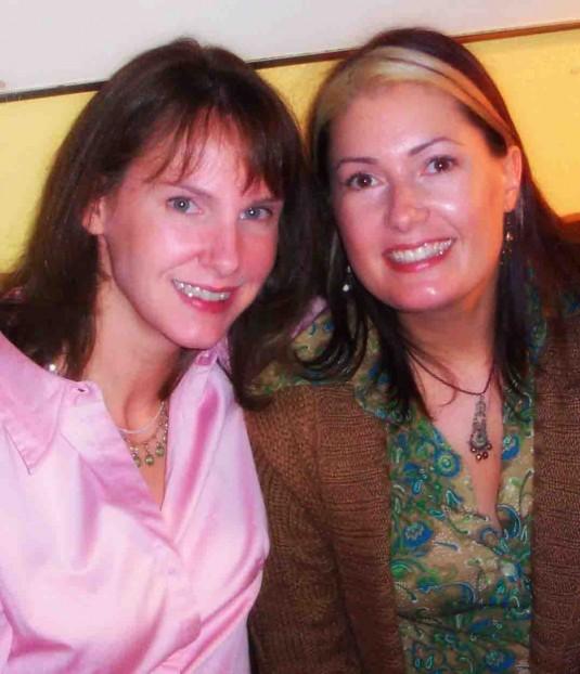 Mikki and Lorinda 2003