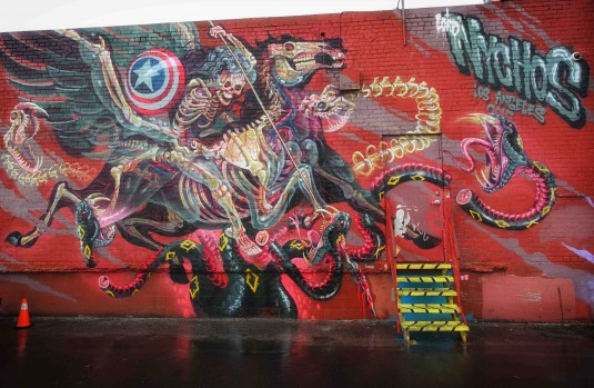 Mural by Nychos