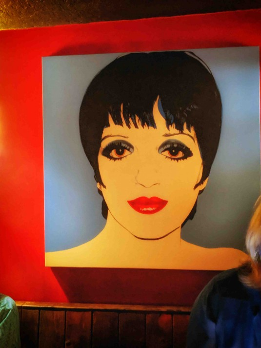 The Liza Minnelli Room at Feinstein's at Vitello's