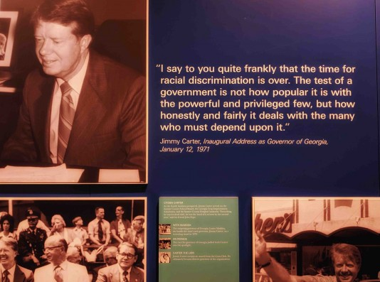 Jimmy Carter Quote at Carter Presidential Library - Atlanta, GA