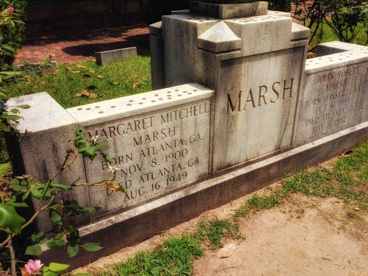 Margaret Mitchell Headstone