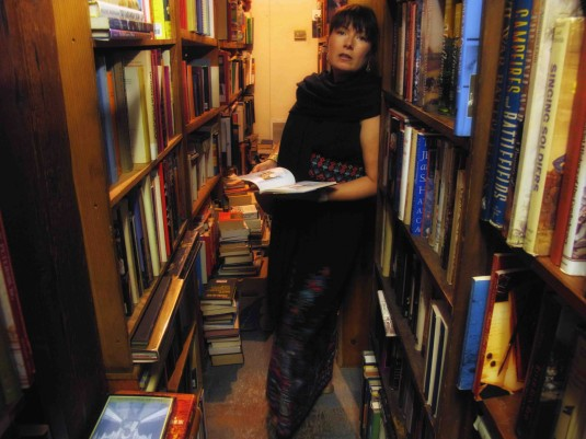 Mikki at a New Orleans Book Store - 2012