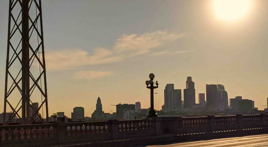 GLAW 2019 Broadway Bridge Los Angleles in the Distance