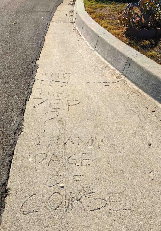GLAW 2019 Sidewalk Graffiti